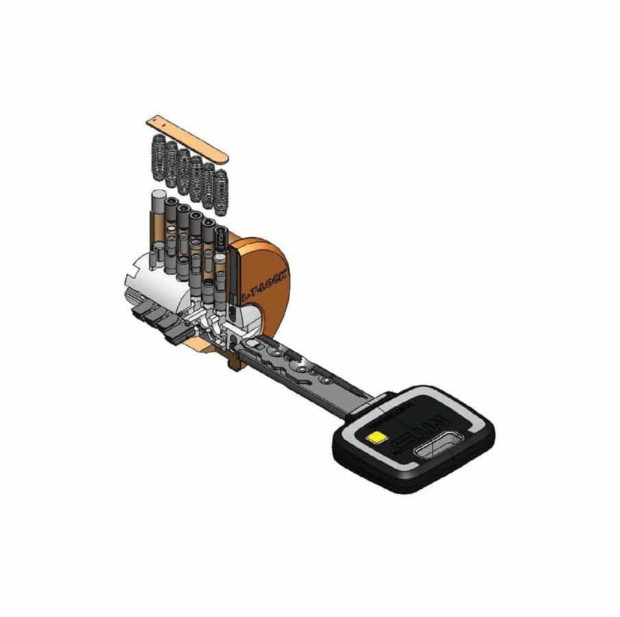 Bezpečnostní zámková vložka Mul-T-Lock MT5+