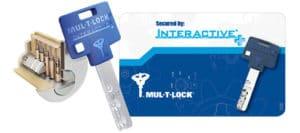 Provedení vložky Mul-T-Lock Flex Control