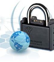 Bezpečnostní visací zámek Watchlock s GPS a GSM modulem