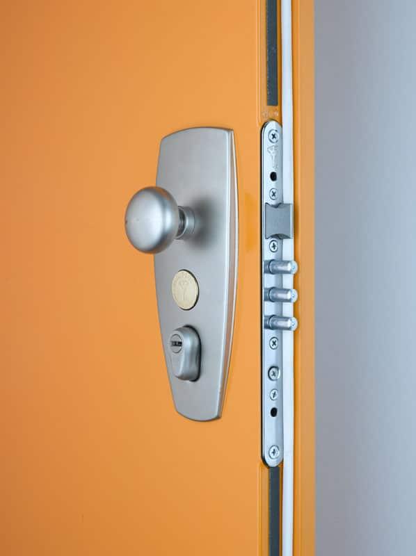 Bezpečnostní dveře lakované