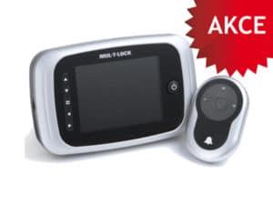 Digitální kukátko Mul-T-lock k bezpečnostním dveřím zdarma